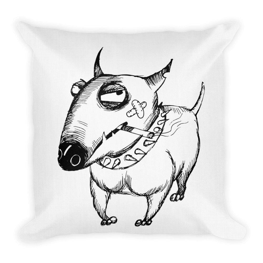 """Snarky Dawg Premium Pillow"""