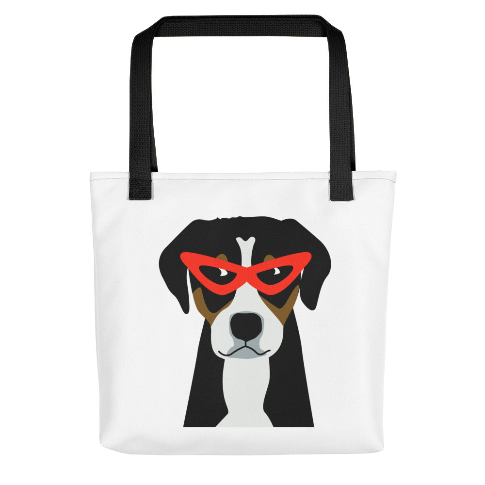 """Winter Dog"" Tote bag"
