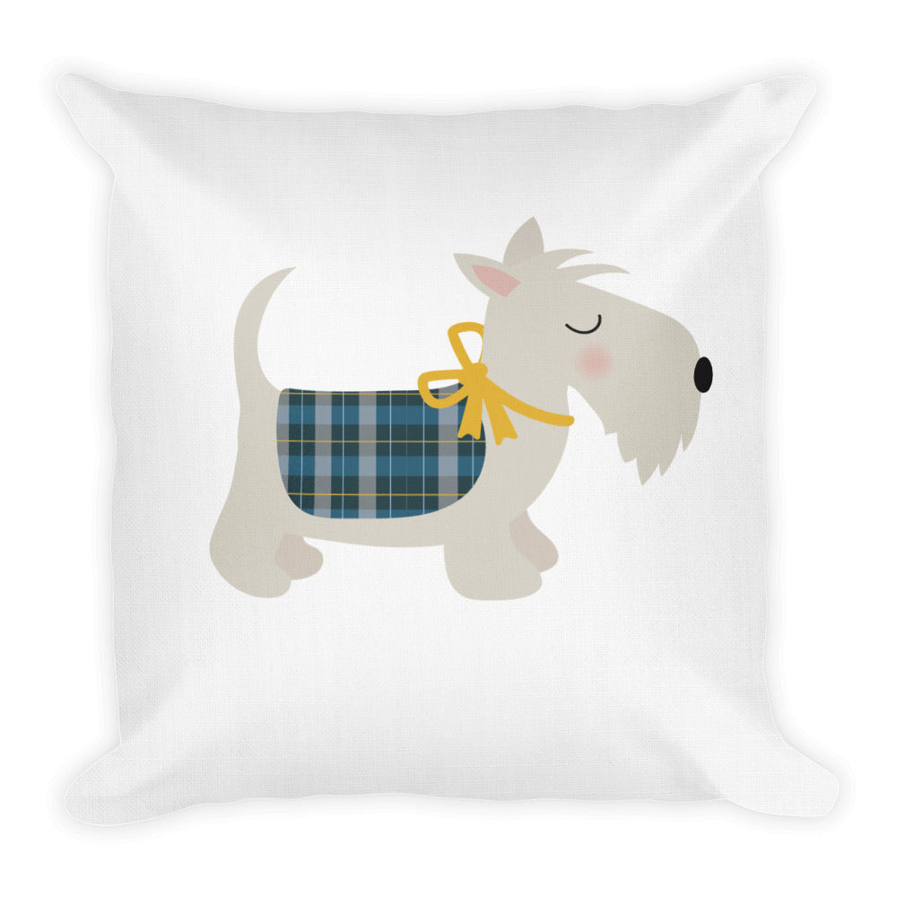 """Holiday Pooch"" Premium Pillow"