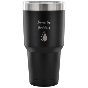 Domestic Goddess Etched Tumbler