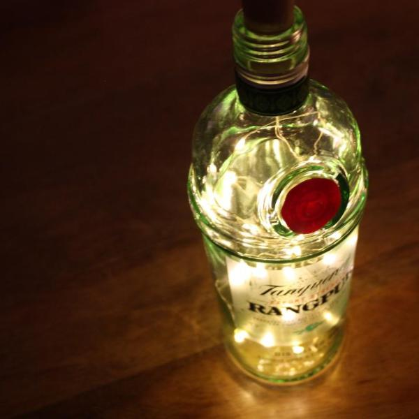 """Tanqueray Rangpur"" Gin Bottle Light"