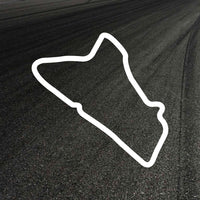 Abingdon Circuit Outline decal