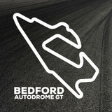 Bedford Circuit Outline decal
