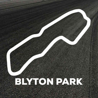Blyton Park Circuit Outline decal