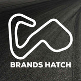 Brands Hatch Circuit Outline decal