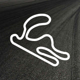 Cartagena Circuit Outline decal