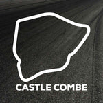 Castle Combe Circuit Outline decal