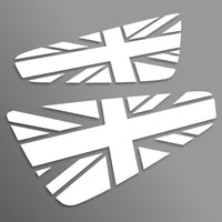 Union Jack Elise Cup spoiler decals