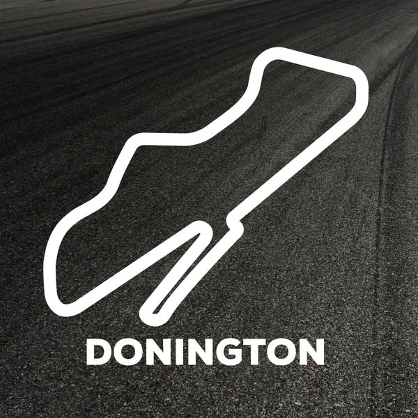 Donington Circuit Outline decal