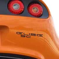 """ELISE SC"" decal for Lotus Elise S2"