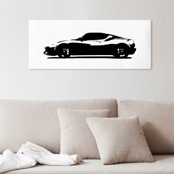 Evora 410 silhouette canvas art