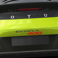 """EVORA 400"" decal"