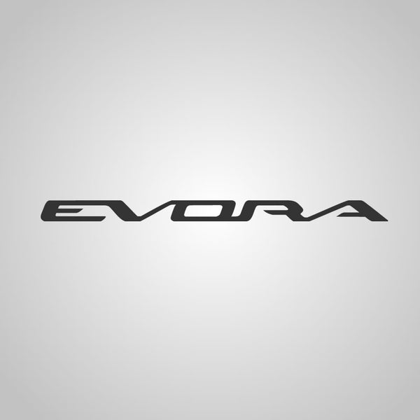 EVORA logo decal