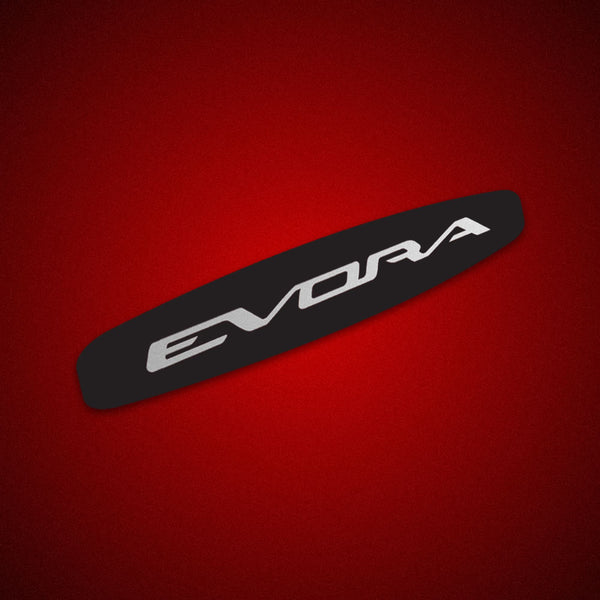 Lotus EVORA logo side repeater sticker / decal