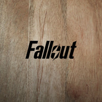 Fallout logo decal