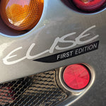 "Lotus Elise/Exige S1 ""FIRST EDITION"" decal (printed)"