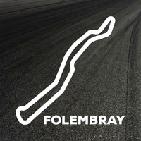 Folembray Circuit Outline decal