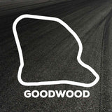 Goodwood Circuit Outline decal