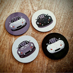 "Lotus Elise S1 ""shades of grey"" coasters"