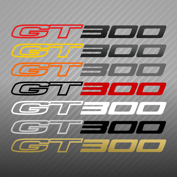 "Lotus Evora ""GT300"" custom decal"