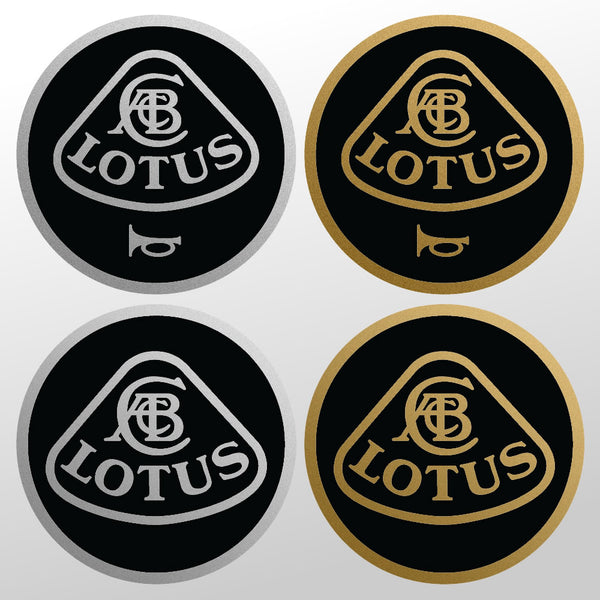 LOTUS Elise S1 steering wheel horn button sticker