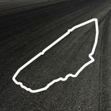 Le Mans Circuit Outline decal