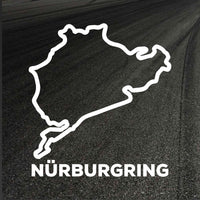 Nurburgring Circuit Outline decal
