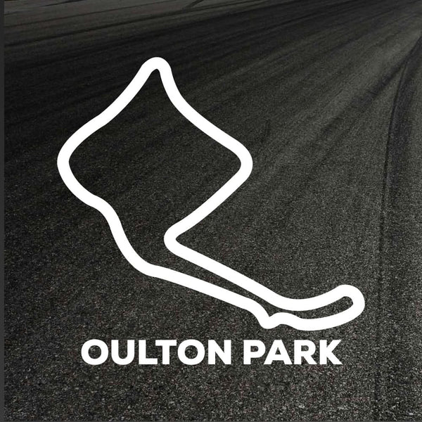Oulton Park Circuit Outline decal