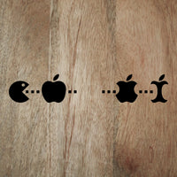 Exclusive Pac-man Apple iMac decal