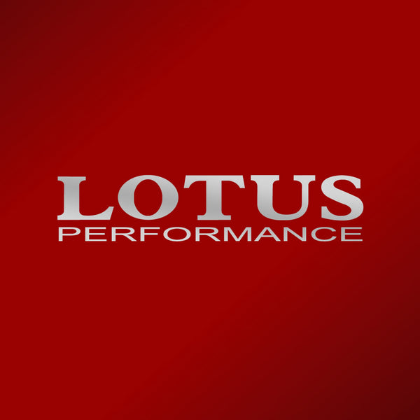 """LOTUS PERFORMANCE"" decal"