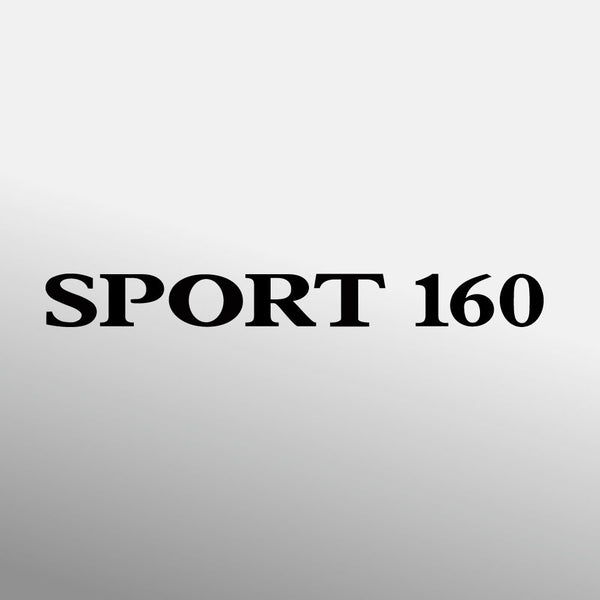 SPORT 160 decal (alternative design)