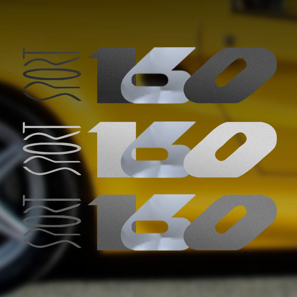 Lotus Elise Sport 160 reproduction decals