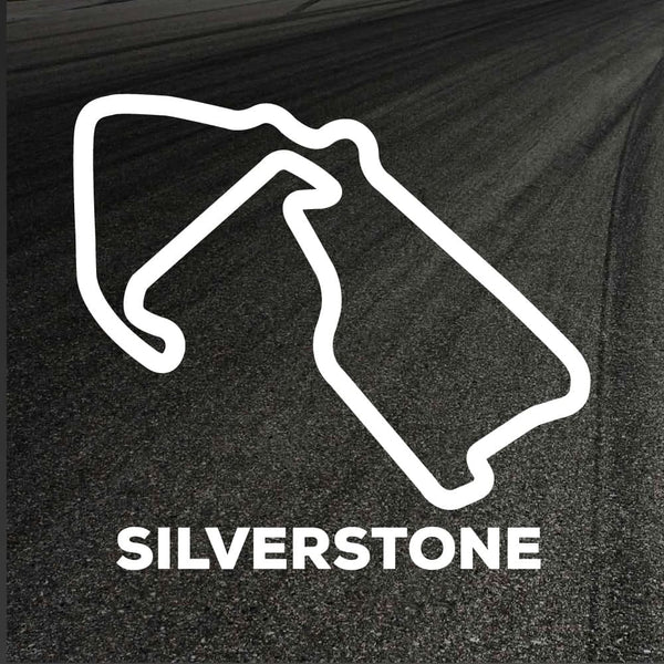 Silverstone Circuit Outline decal