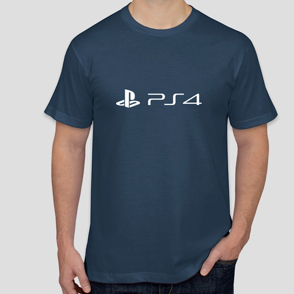 PS4 logo t-shirt