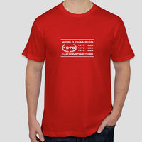 World Champion Car Constructor 1978 - vintage LOTUS t-shirt (alternative design)