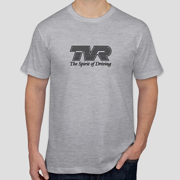 "TVR ""The Spirit of Driving"" slogan t-shirt"