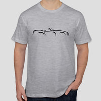 TVR Chimaera illustration t-shirt