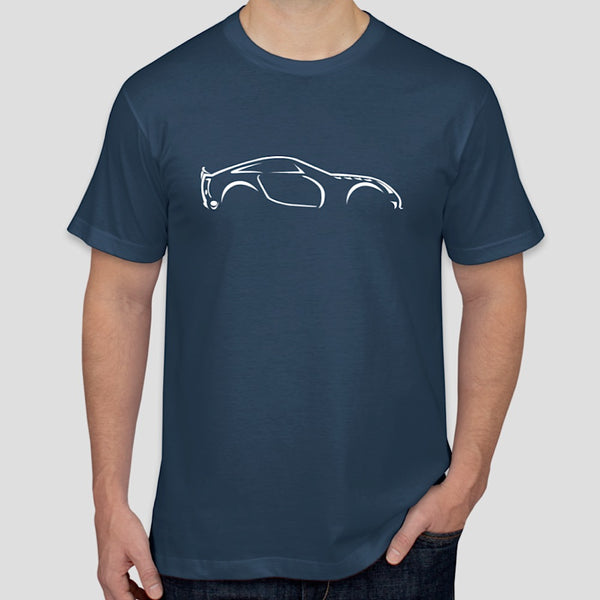 TVR Sagaris illustration t-shirt