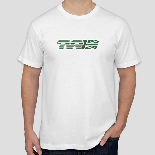TVR Union Jack logo t-shirt