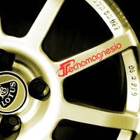 Tecnomagnesio wheel decal (Lotus 340R)