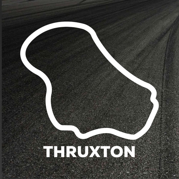 Thruxton Circuit Outline decal