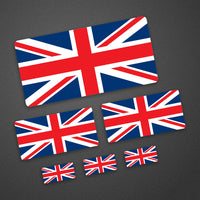 Standard Union Jack Stickers
