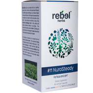 #11 NuroSteady 60 softgels Rebel Herbs