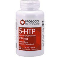 5-HTP 100 mg 90 vcaps Protocol for Life Balance