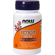 Now Foods 7 Keto 100 Mg 60 Vcaps