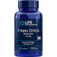 7-KETO DHEA Metabolite 25 mg 100 caps Life Extension
