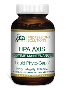 HPA Axis Daily Maintenance120 lvcaps Gaia Herbs Professional