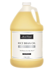 Rice Bran Massage Oil 1 Gal Bon Vital