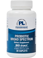 Broad Spectrum Probiotic 30 caps Progressive Labs