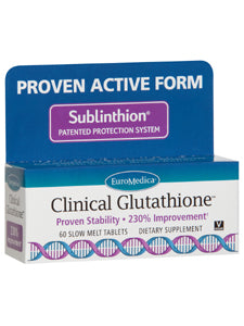 Clinical Glutathione 60 tabs